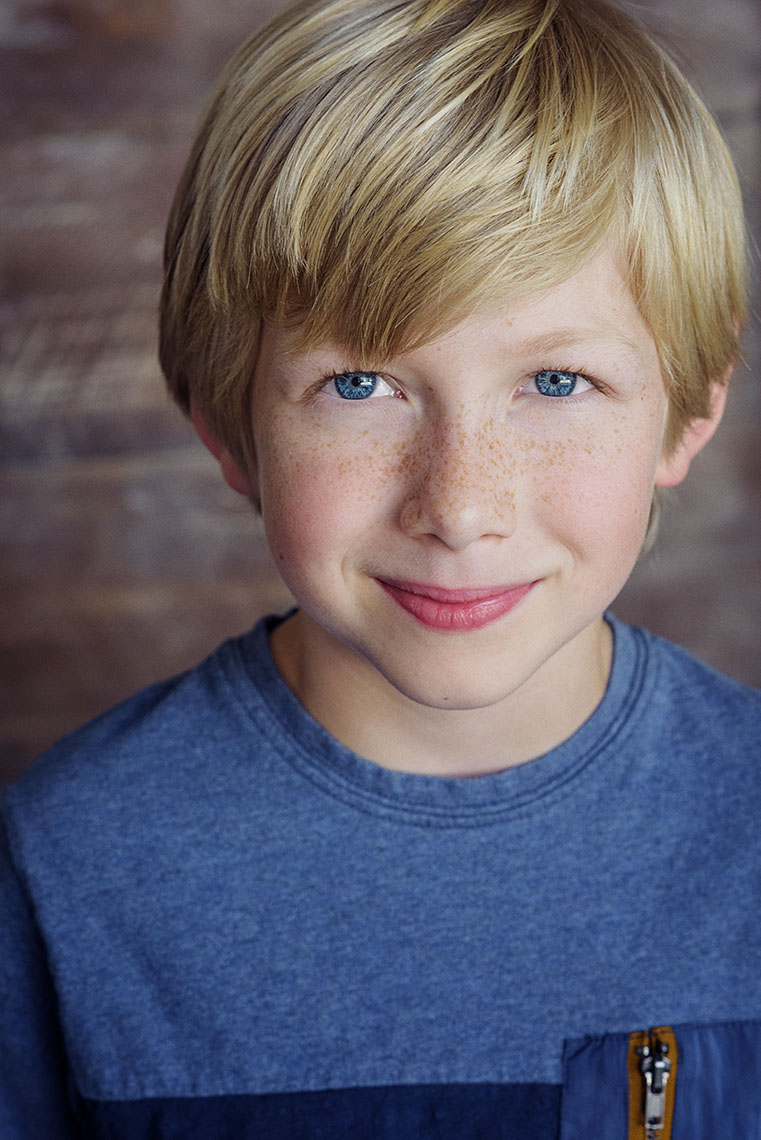 James King acting headshot for auditions.