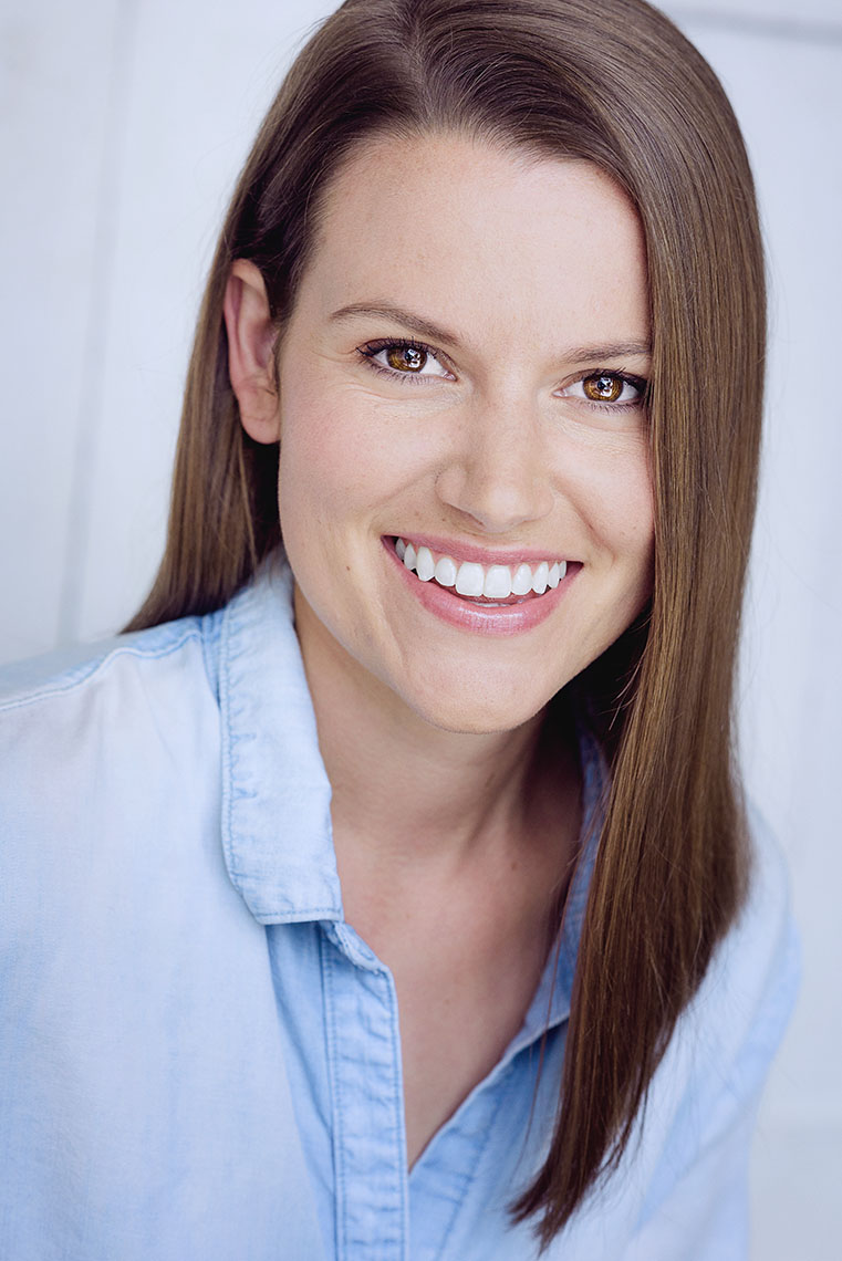 Briers Newman actress known for 3 Strikes. Photographed by headshot photographer Brad Buckman.