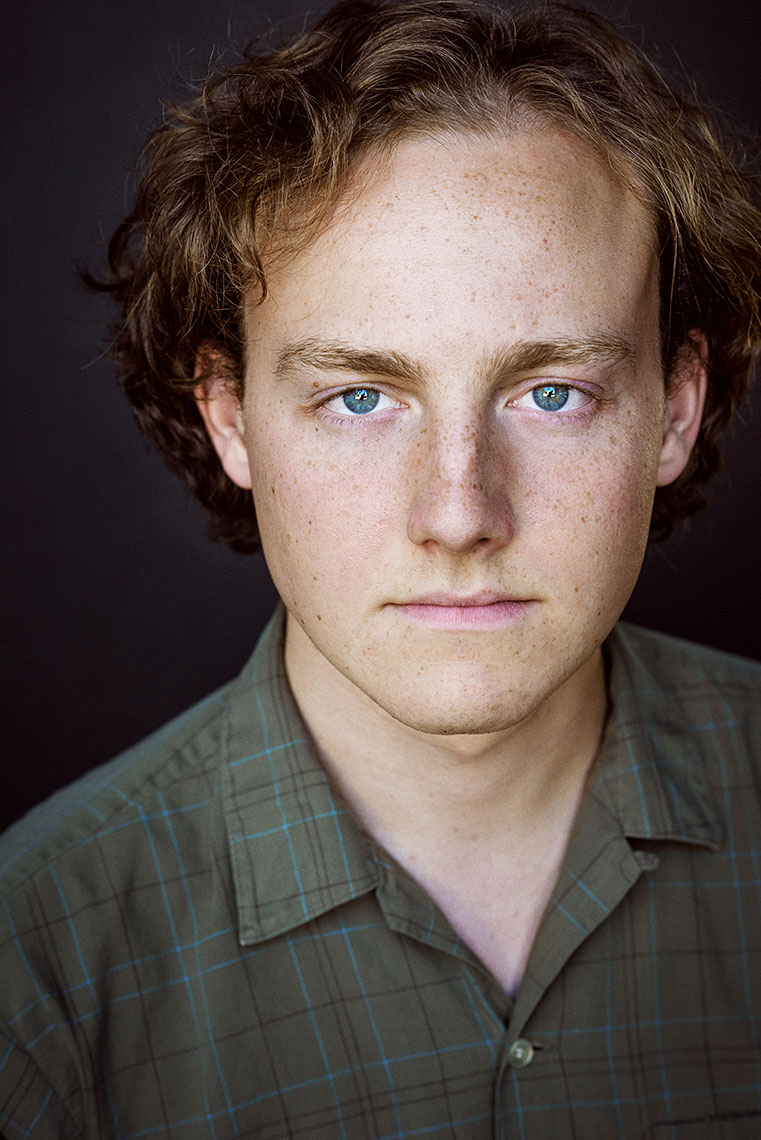 Nicolai Dorian by Brad Buckman. Theatrical headshot for acting.
