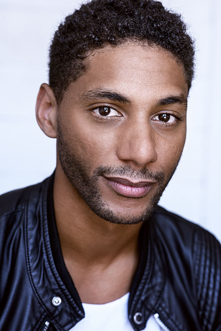 Adrian Burks is best known for his role in the award winning film Whiplash. Headshot by Los Angeles photographer Brad Buckman