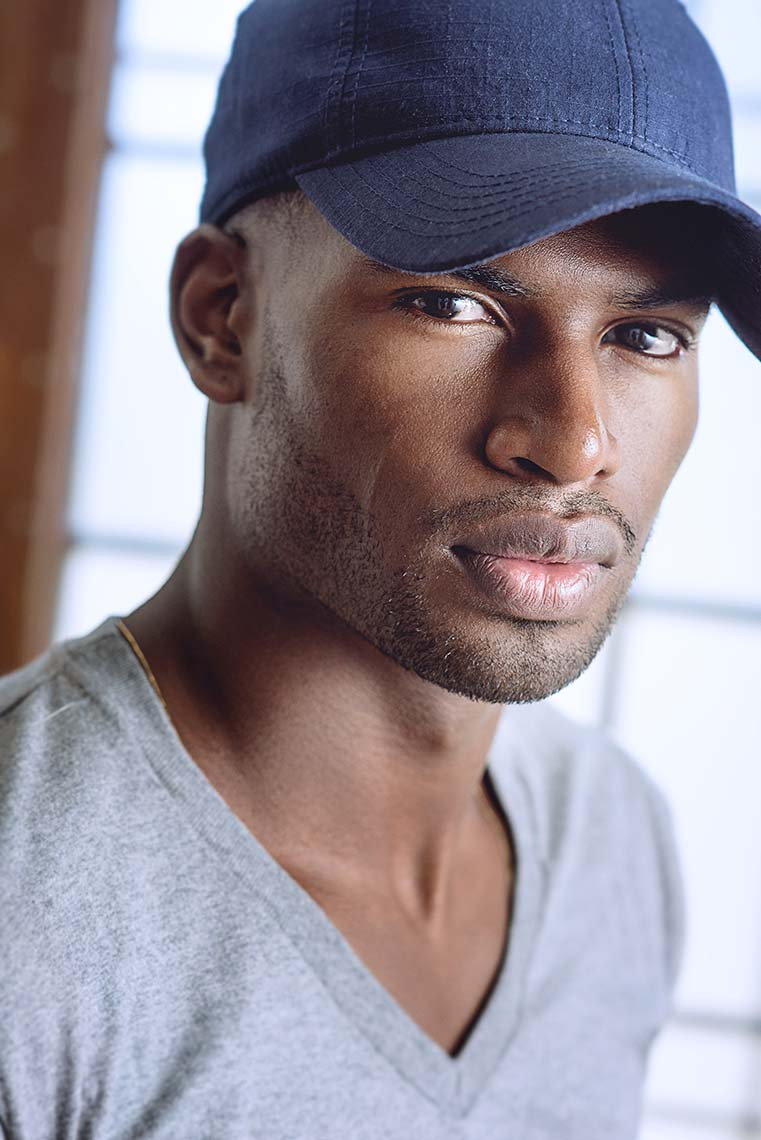 Broderick Hunter photographed by Los Angeles photographer, Brad Buckman.