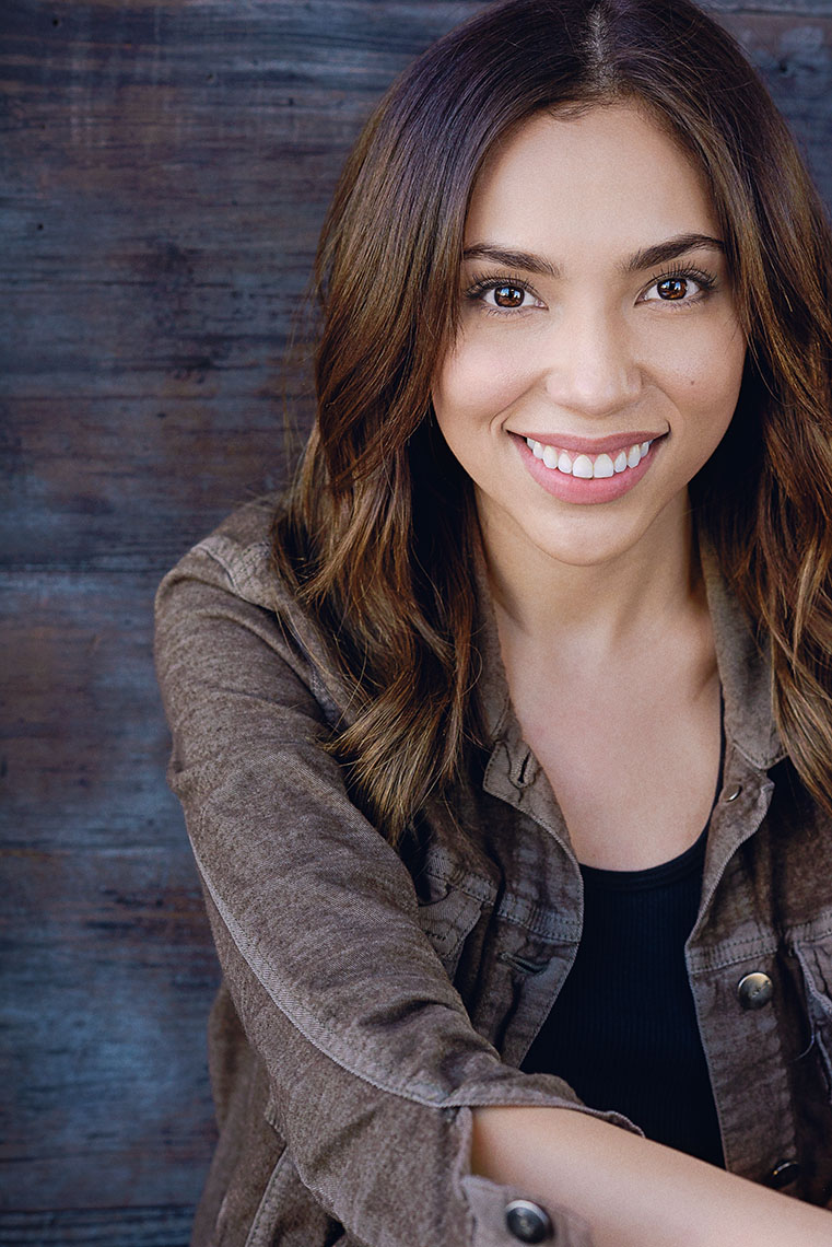 Actress Brenda Barberena has appeared on General Hospital, Switched at Birth and Fool-ish.