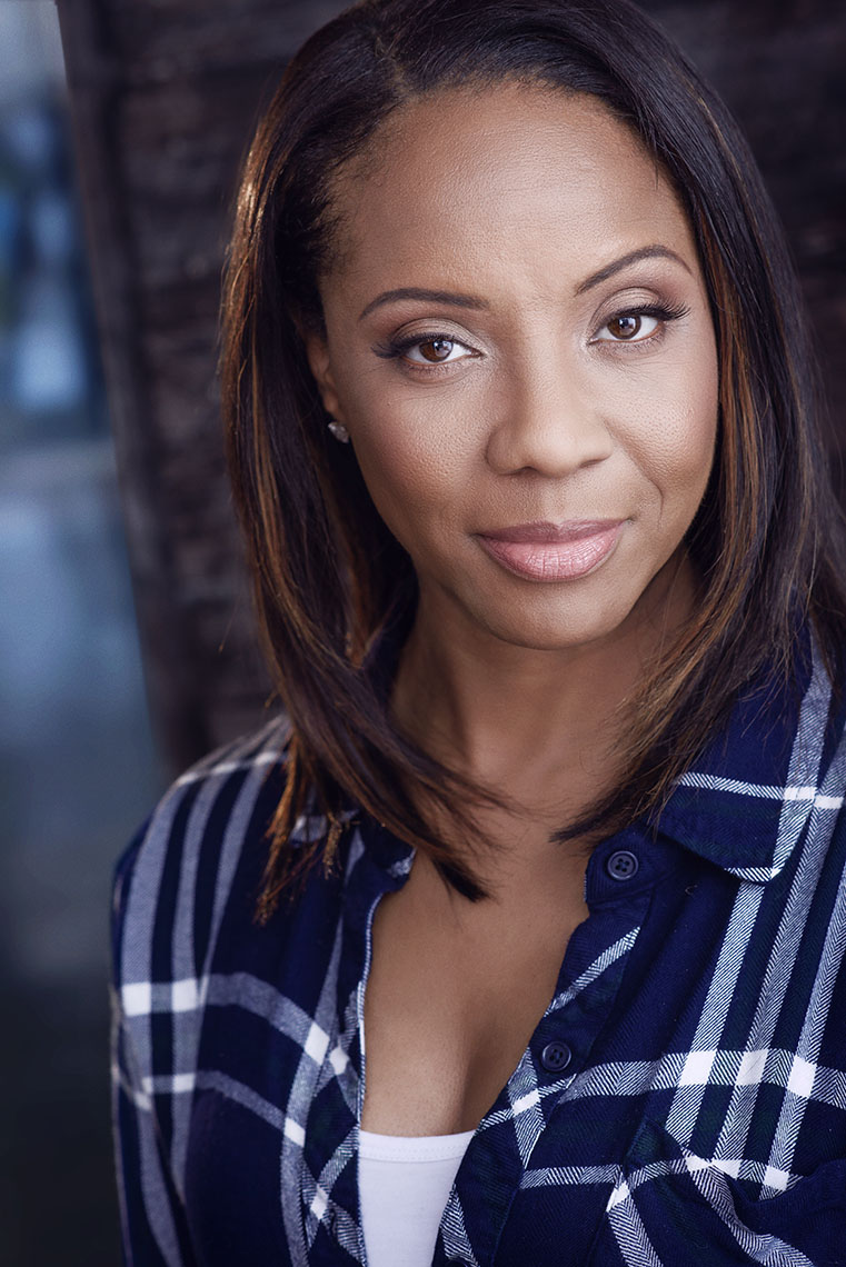 Lana Moorer by best headshot photographer Brad Buckman.  Lana Moorer can be seen in New York Undercover, Loved to Death , Queen of the South and S.W.A.T.