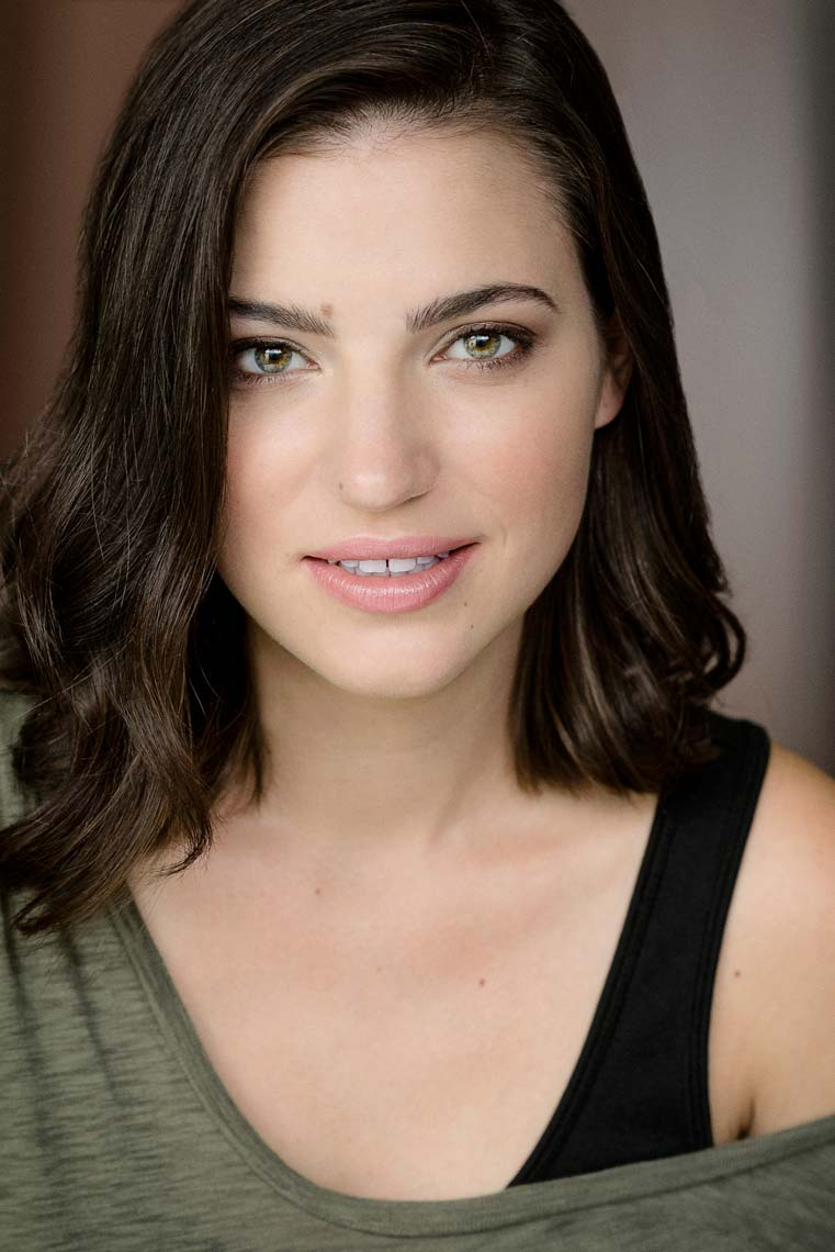Amelie Brantley acting headshots in Los Angeles.