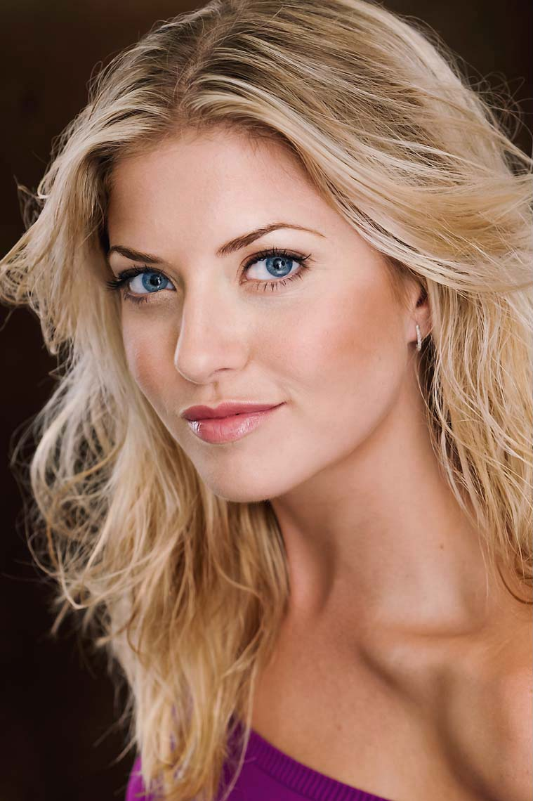 Angelica Hildebrand, commercial actor headshot  taken at Studio Buckman.