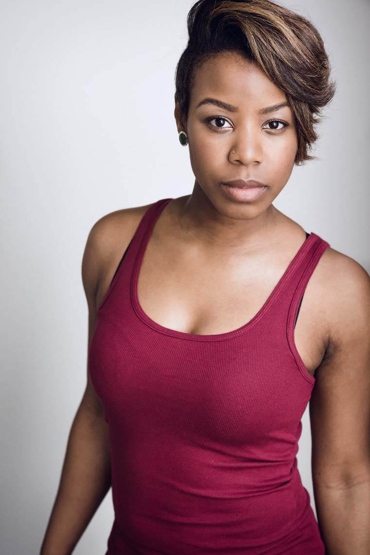 Danielle Banks, television and film actress and screenwriter. Headshot by Brad Buckman, best photographer in Los Angeles.