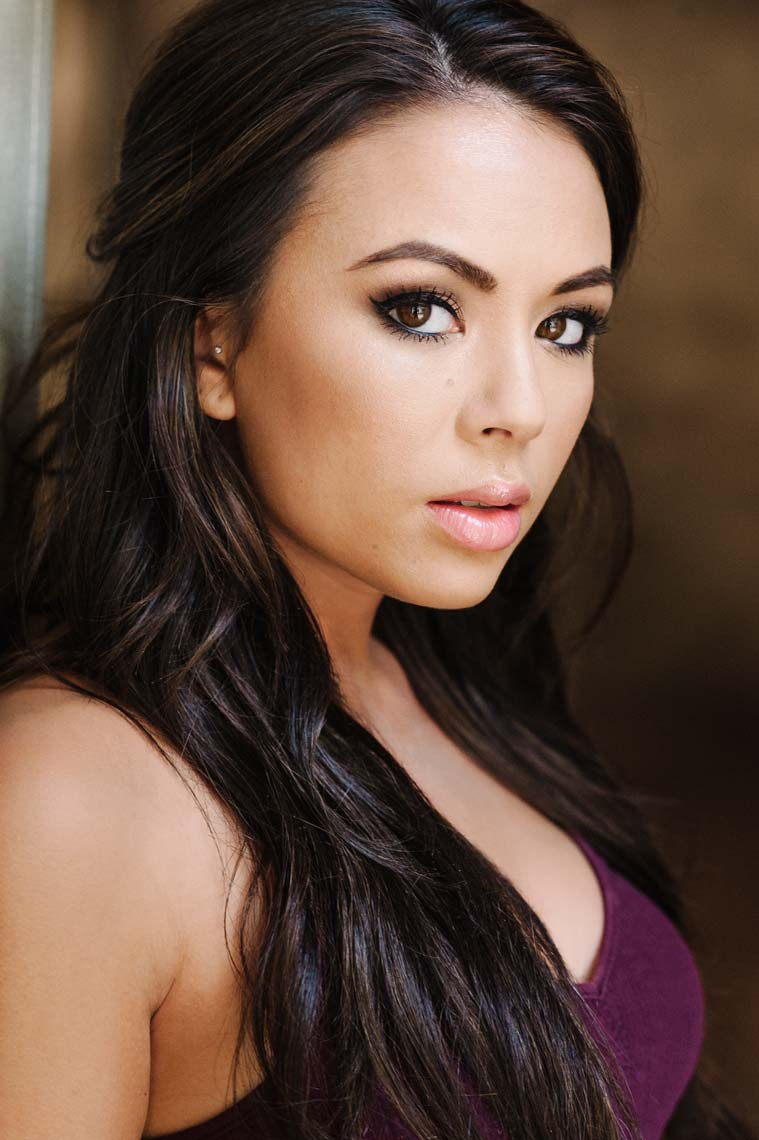 Janel Parrish photographed by the best headshot photographer in Los Angeles. Janel played Mona on the popular television show Pretty Little Liars.
