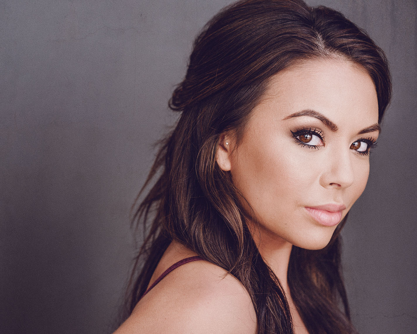 Janel Parrish photographed by the best headshot photographer in Los Angeles. Best known for Pretty Little Liars.
