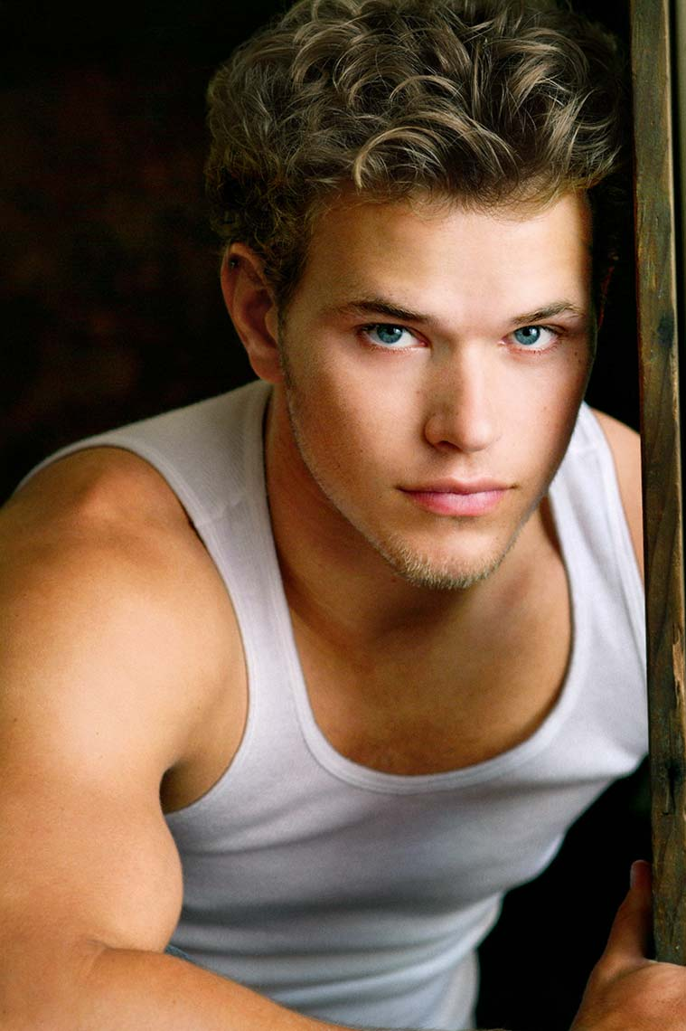 "Top Los Angeles Headshot Photographer Brad Buckman Photographs Kellan Lutz - ""Twilight"""